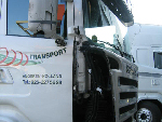 Scania hoekschade